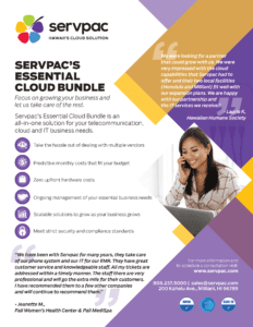 Essential cloud bundle brochure