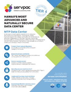 mtp data center brochure